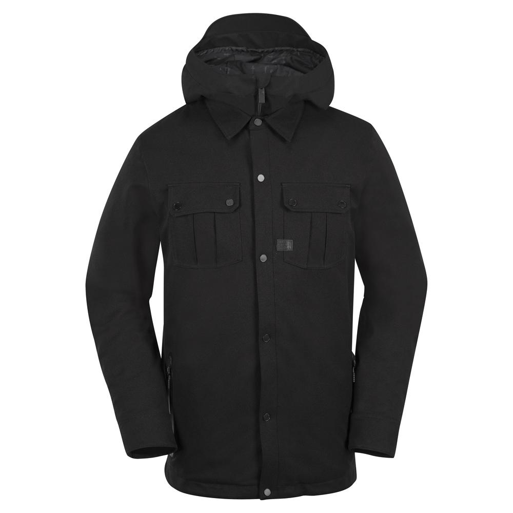 Volcom Creedle2Stone - black Größe: S Farbe: BLACK