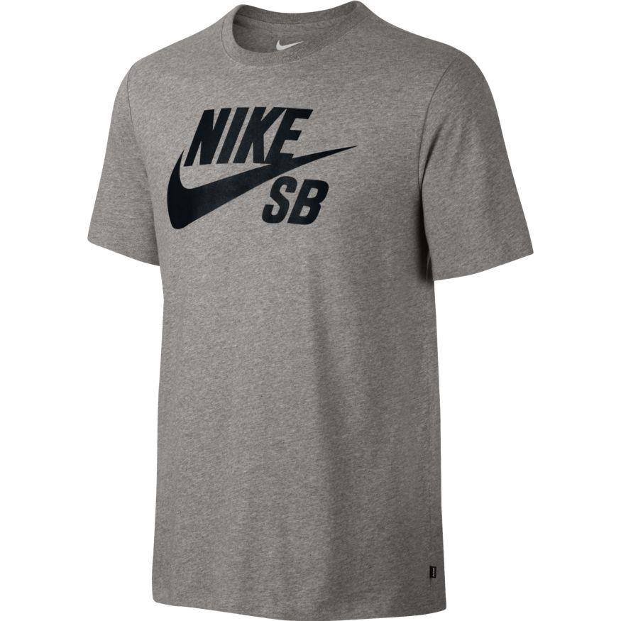 Nike SB SB T-Shirt - grey Größe: S Farbe: DkGreyHt