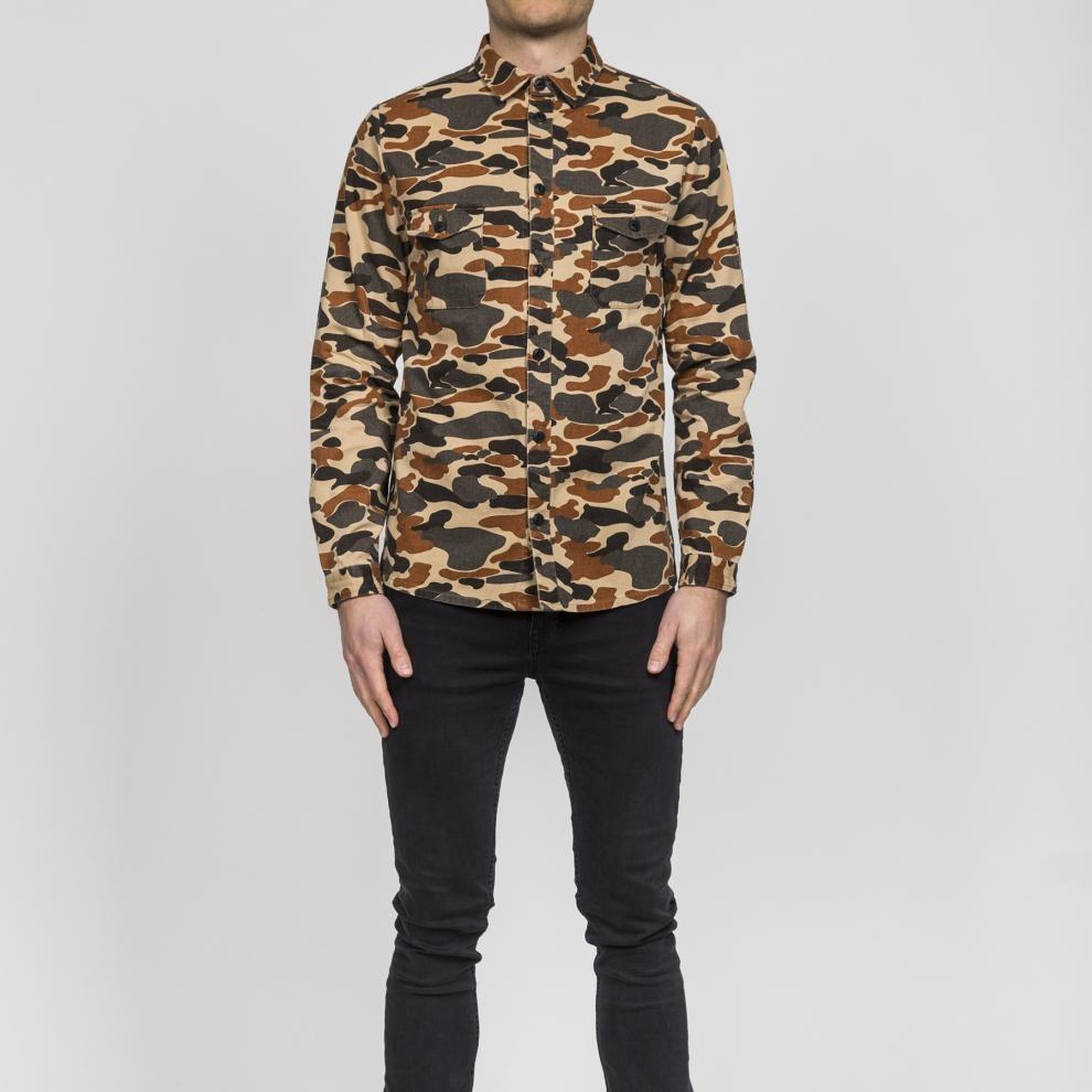 293459137a1ea1 Revolution Shirt Pattern - camou Größe  S Farbe  Camou S