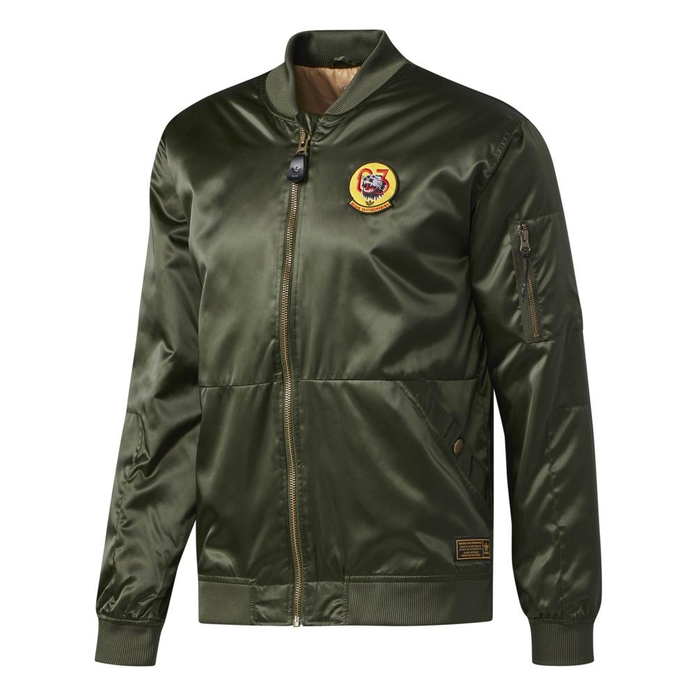 Adidas MA1 Jacket - nightcargo Größe: S Farbe: NightCargo