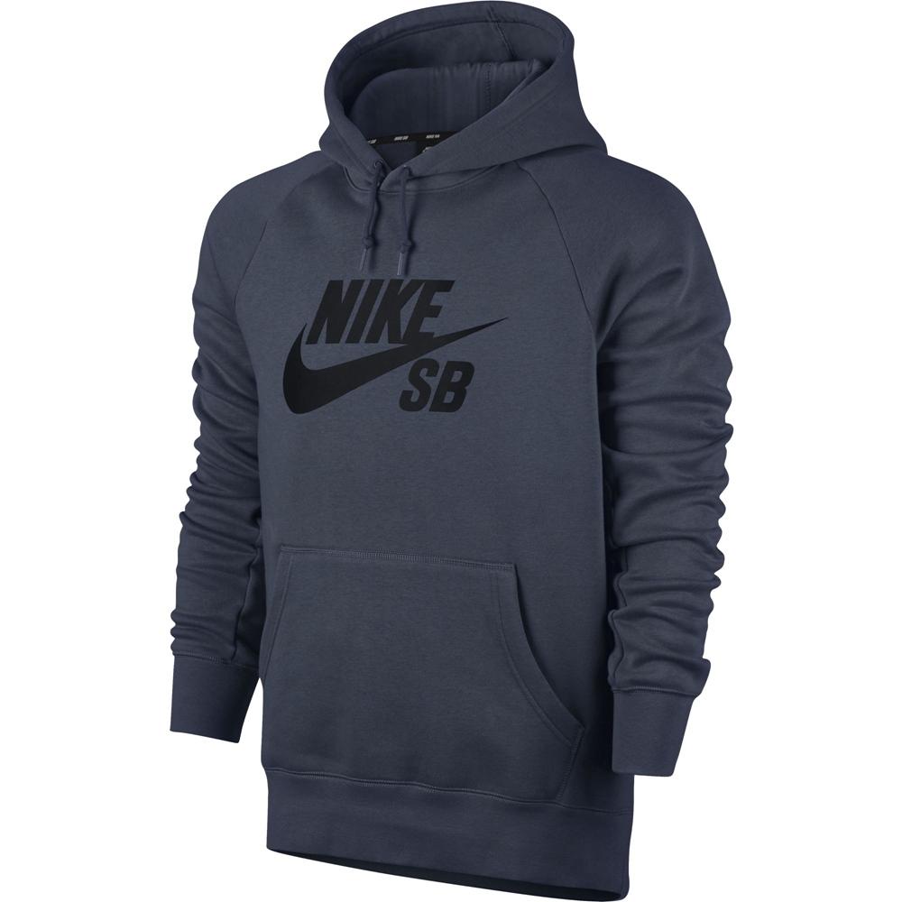 HiLight Logo black Nike SB Nike SB Icon Pullover - thunder blue Größe  S  Farbe  ThndrBl 5a1f95011a