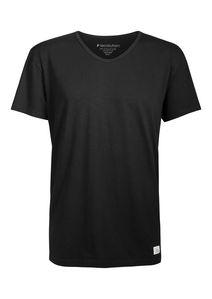 Recolution Round V-Neck - black Größe: S Farbe: black