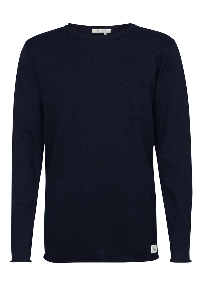 Recolution Light Knit #POCKET - navy Größe: M Farbe: navy