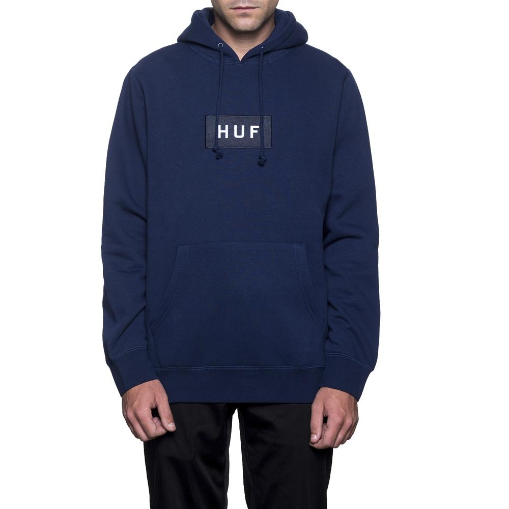 Huf Bar Logo - navy Größe: S Farbe: navy