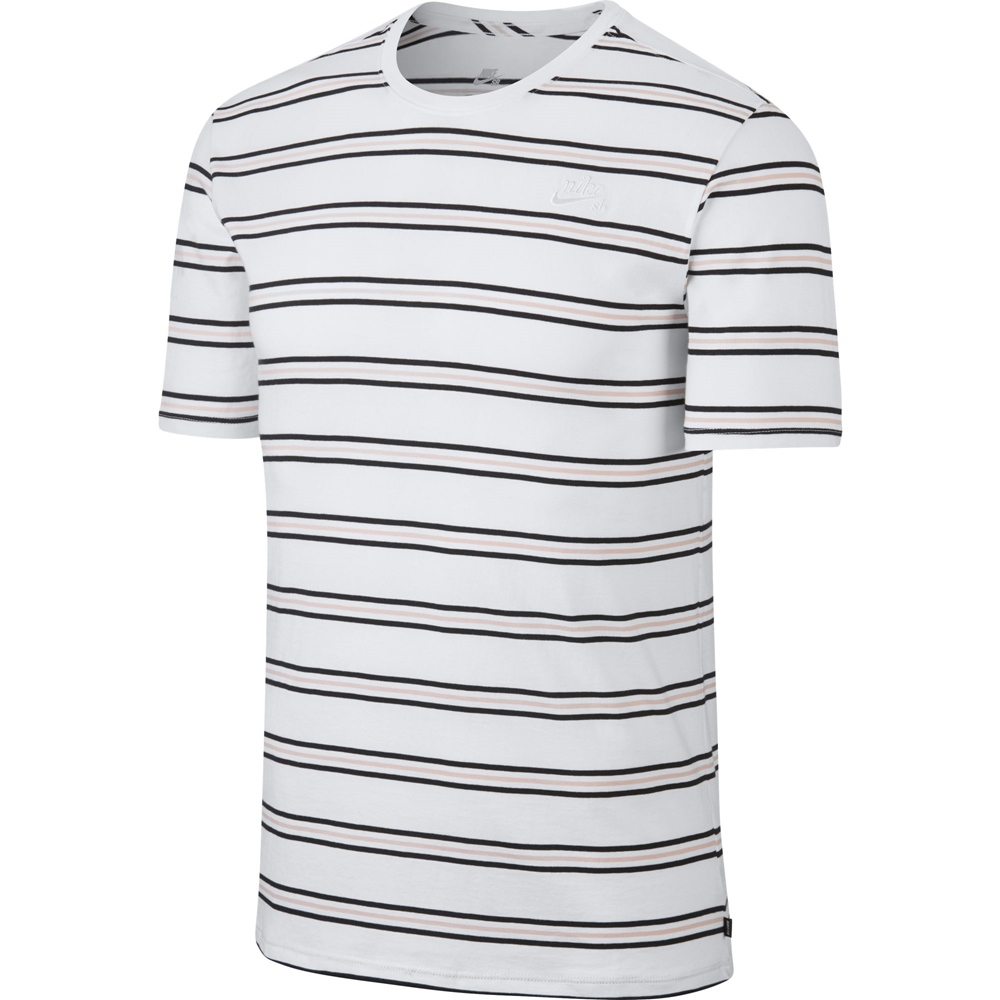07ac36472c04 HiLight Logo black Nike SB Nike SB Tee Summer Stripe - white Größe  XS  Farbe  white