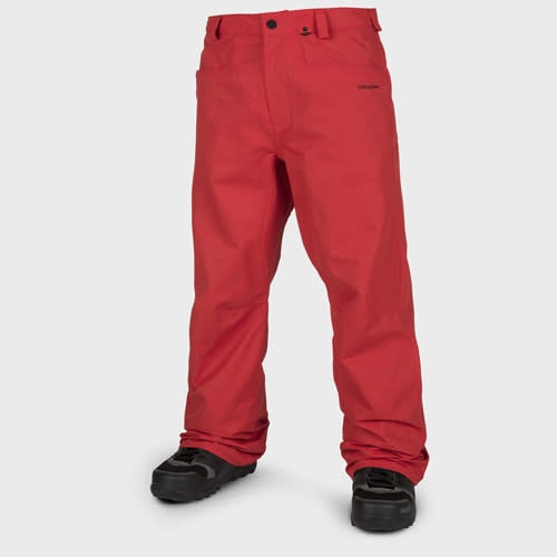 Volcom Carbon Pant - fire red Größe: M Farbe: firered