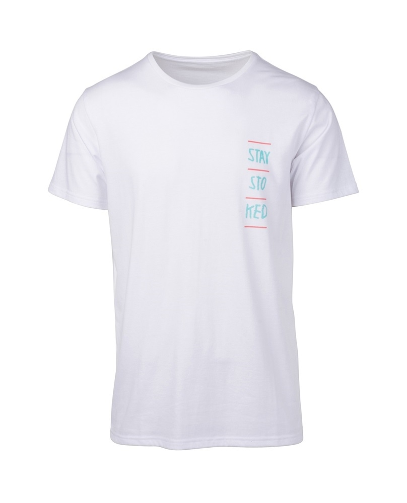 Rip Curl Stay Stoked - optical white Größe: S Farbe: opticalwhi