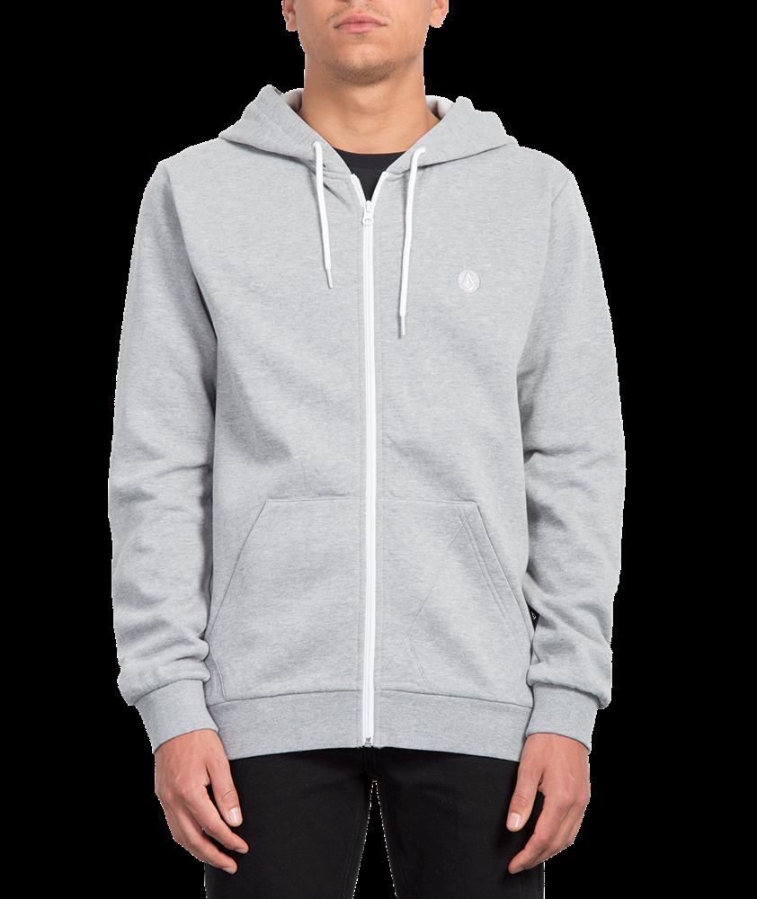 Volcom Iconic - heather grey Größe: M Farbe: heathergre