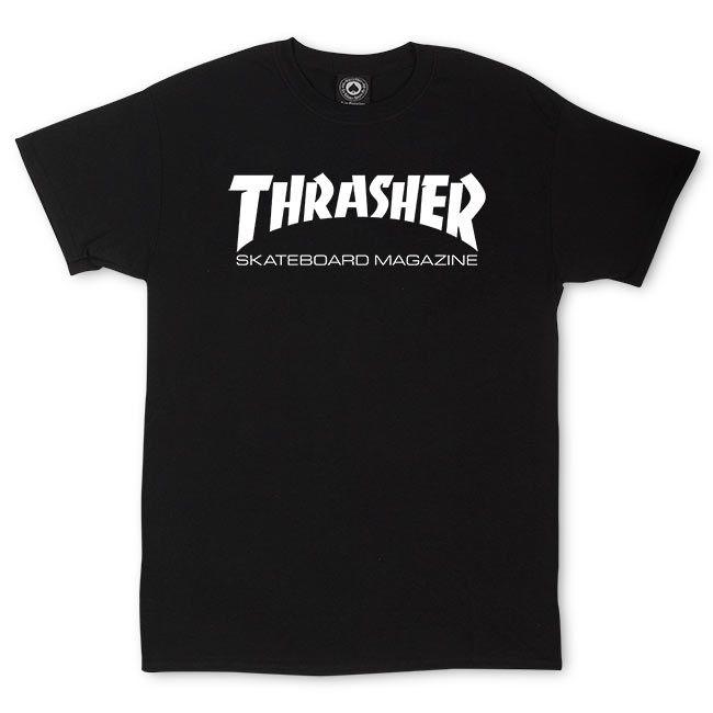 Thrasher Skate Mag - black Größe: S Farbe: black
