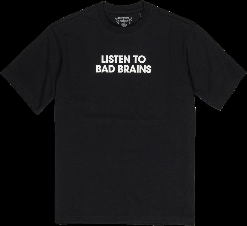 Element Listen To Bad Brains - flint black Größe: S Farbe: flintblack
