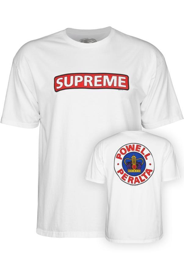 Powell Powell Peralta Supreme - white Größe: S Farbe: white