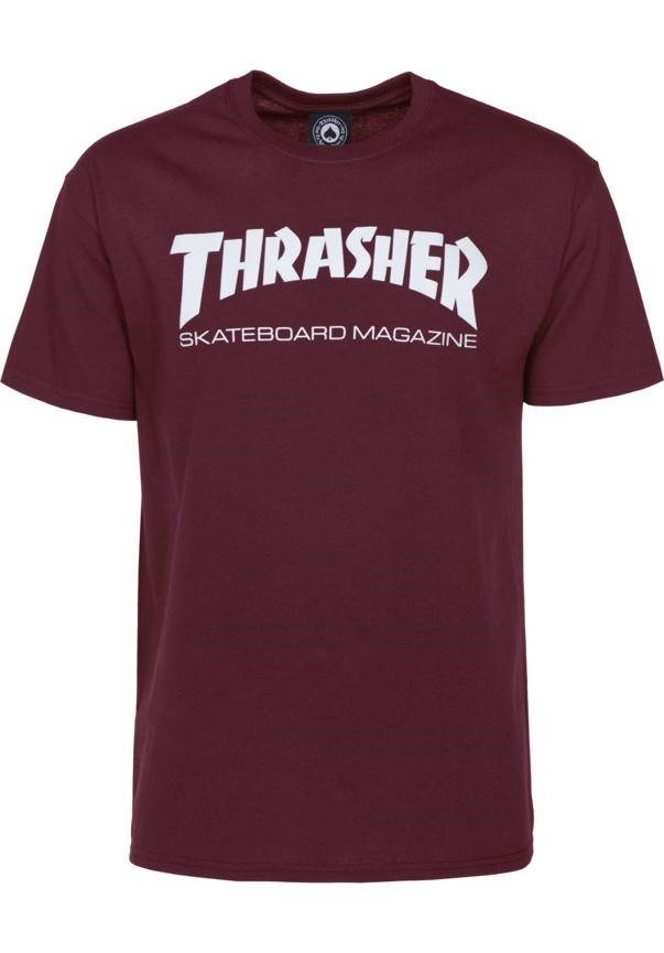 Thrasher Skate Mag - maroon Größe: S Farbe: maroon