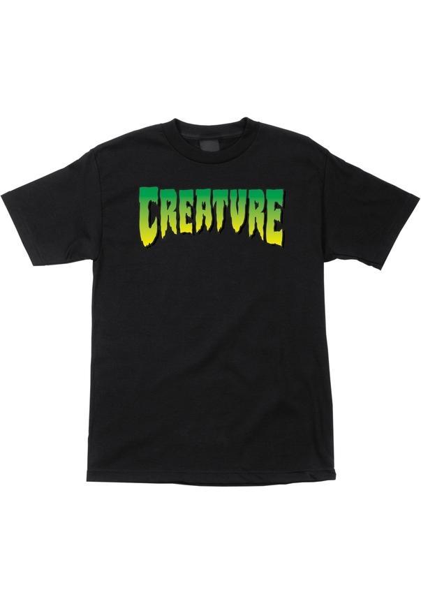 Creature Logo - black Größe: S Farbe: black