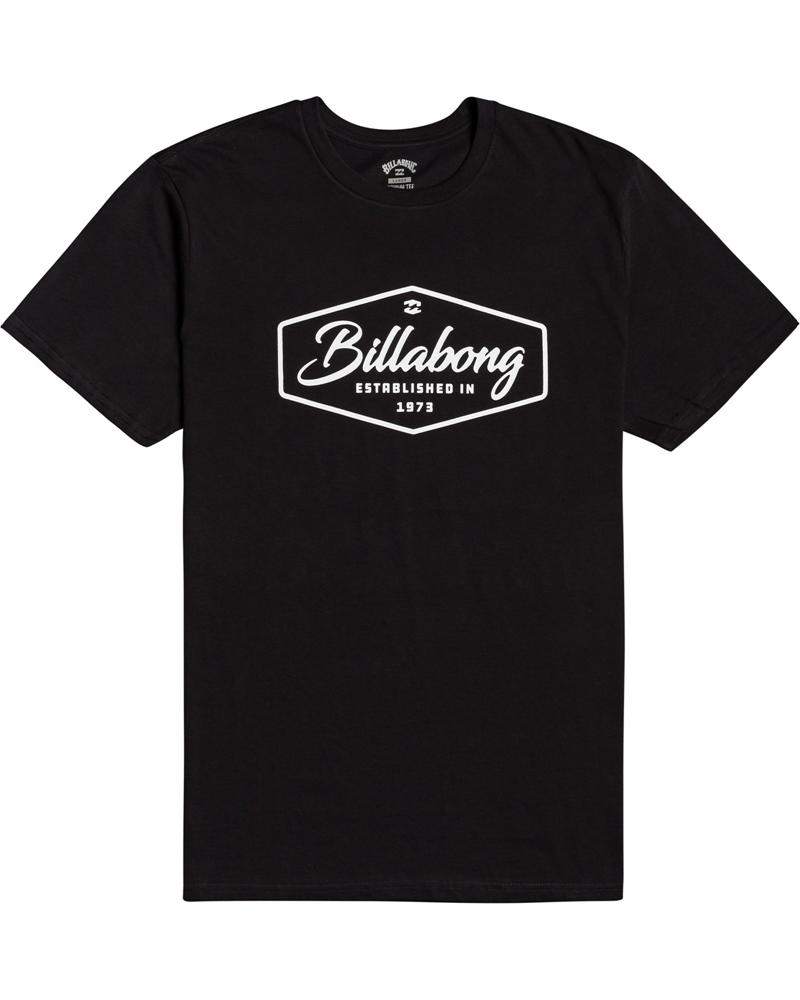 Billabong mns T-Shirt Trademark black Größe: M Schwarz: black