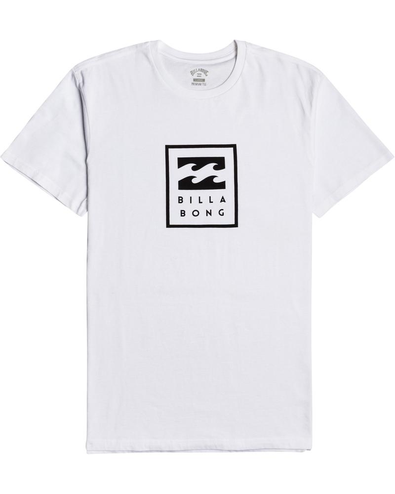 Billabong mns T-Shirt Unity Stacked white Größe: S Weiss: white
