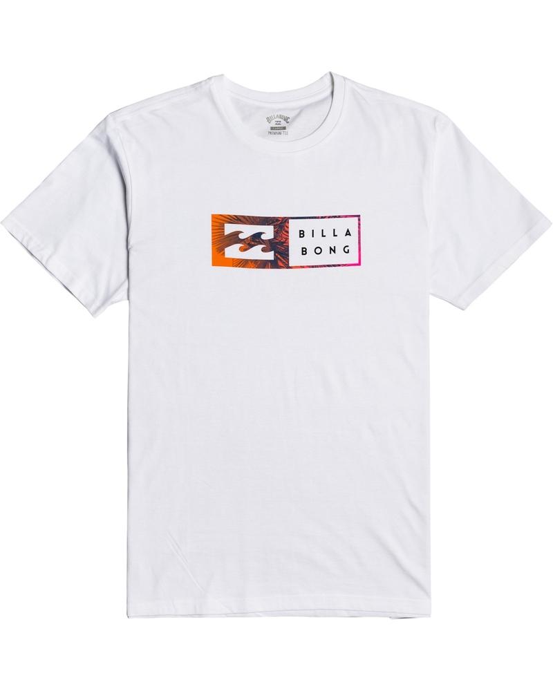 Billabong mns T-Shirt Inversed white Größe: S Weiss: white