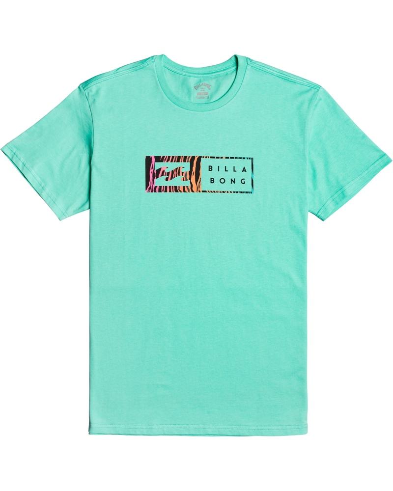 Billabong mns T-Shirt Inversed light aqua Größe: M Farbe: lightaqua