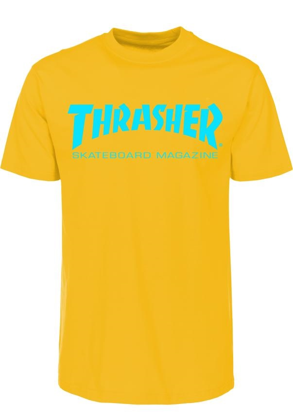 Thrasher Skate Mag - gold Größe: M Farbe: gold