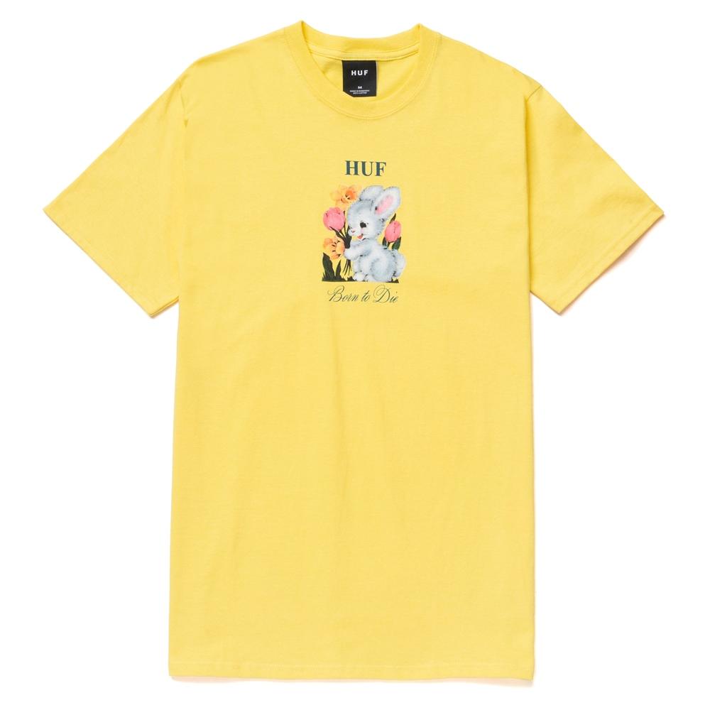 Huf Born To Die - yellow Größe: M Gelb: yellow