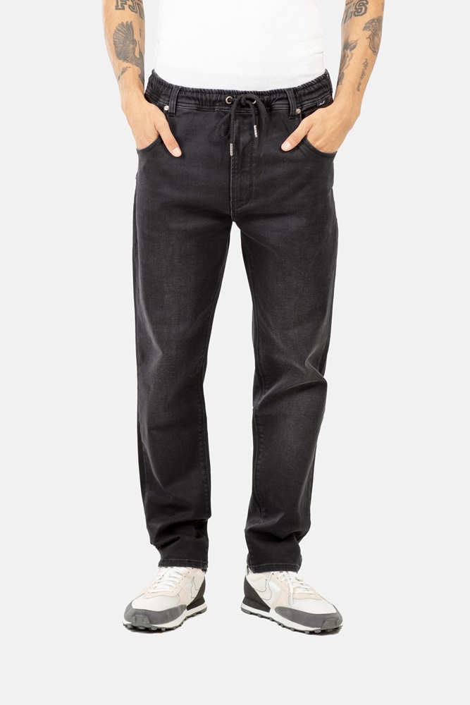 Reell Jogger Jeans - black faded Größe: M Schwarz: blackfaded
