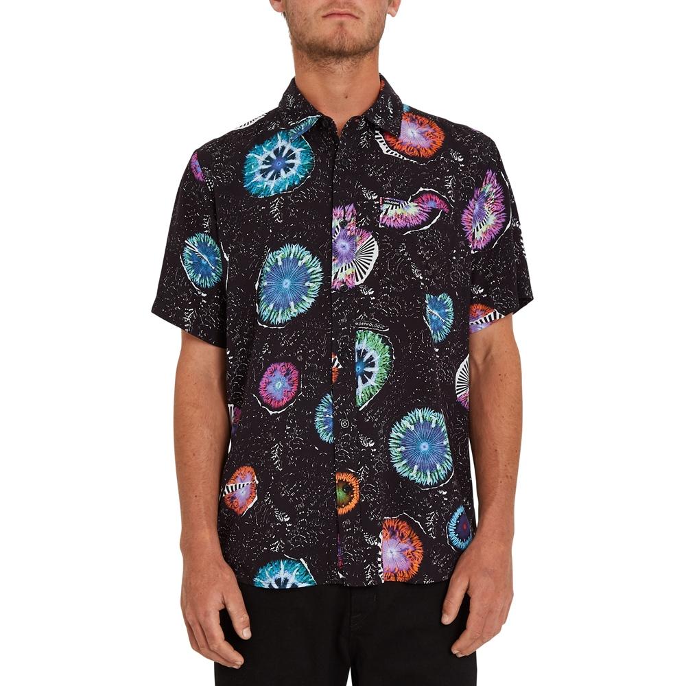 Volcom Coral Morph - black Größe: S Farbe: black