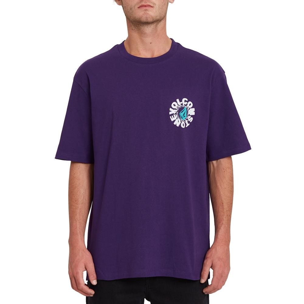 Volcom Nausea - violet indigo Größe: S Violett: violetindi