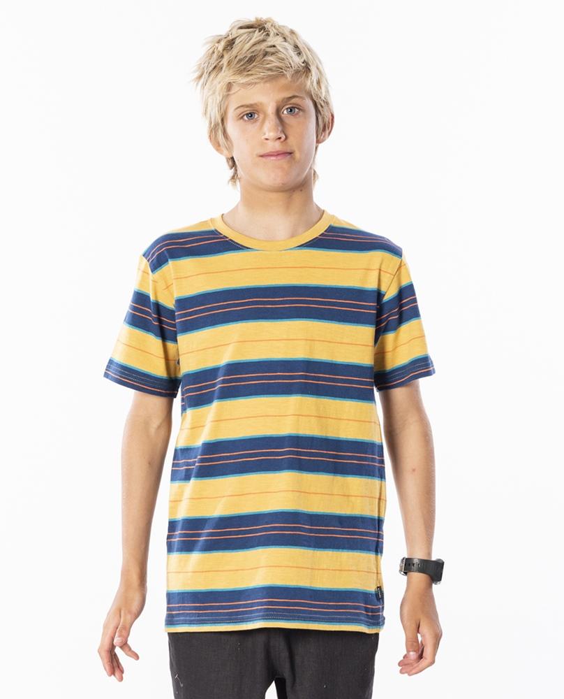 Rip Curl Baja Stripe - mustard Größe: 116_S Gelb: mustard