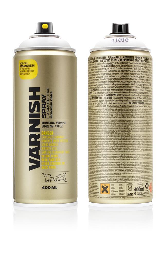 Montana Varnish - Klarlack - T1010 - matte - matt Farbe: matte