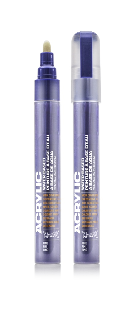Montana ACRYLIC Marker 2mm Fine - SH4220 Lilac Farbe: lilac Breite: 2mm