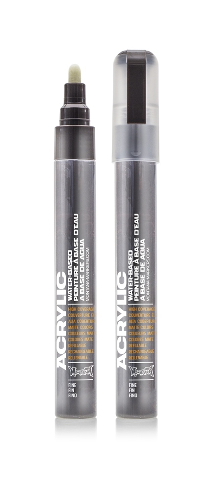 Montana ACRYLIC Marker 2mm Fine SH 8020 Brown Dark