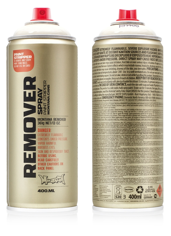 Montana Remover 400ml - RM400