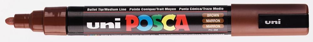 Posca Marker PC-5M Braun Farbe: braun