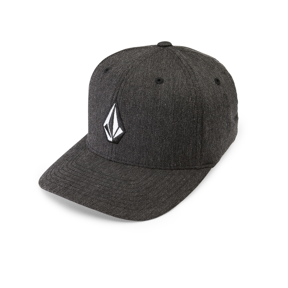 Volcom Full Stone Heather XFit - charcoal heather Größe: S/M Farbe: charcoalhe