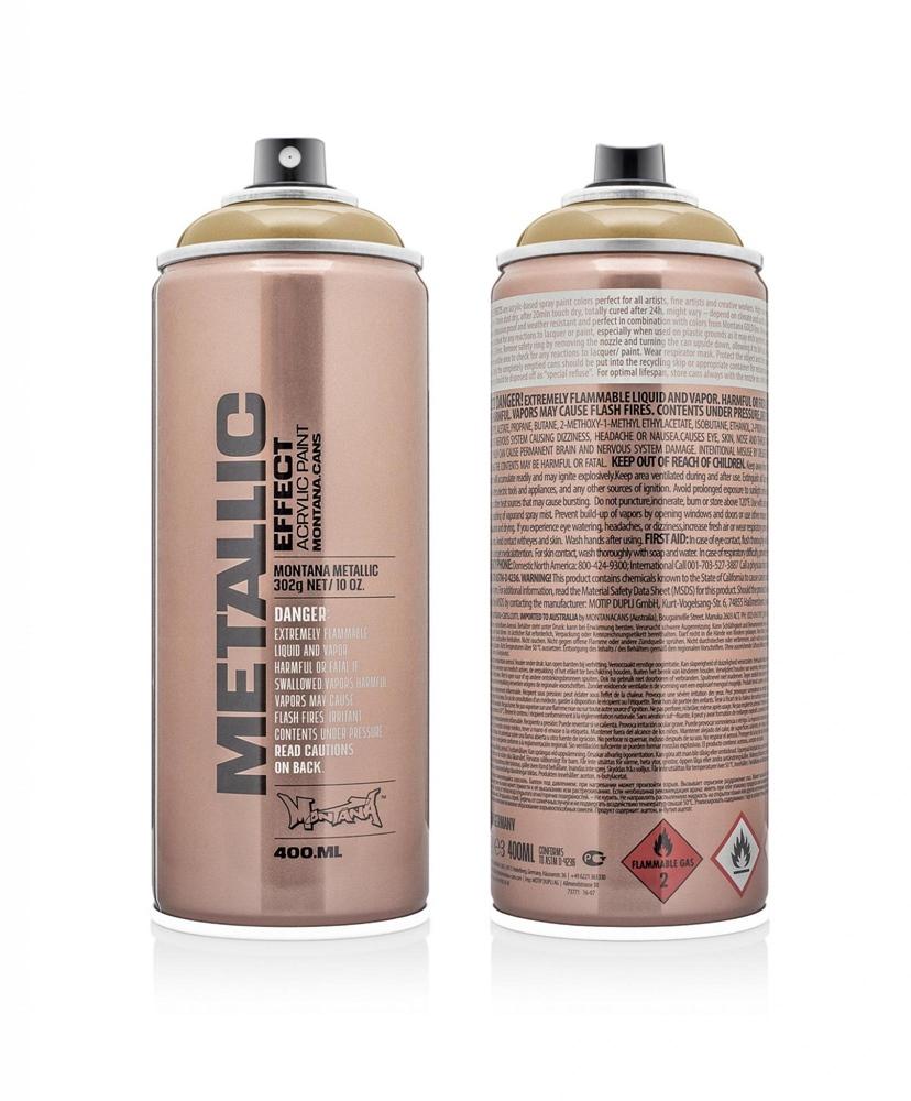 Montana Metallic 400ml - EMC1050 - Gold Farbe: Gold
