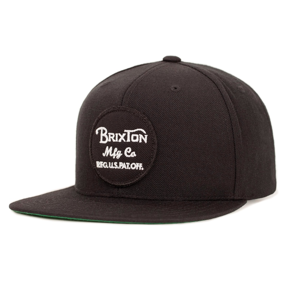 Brixton Wheeler - black Größe: Onesize Farbe: Black