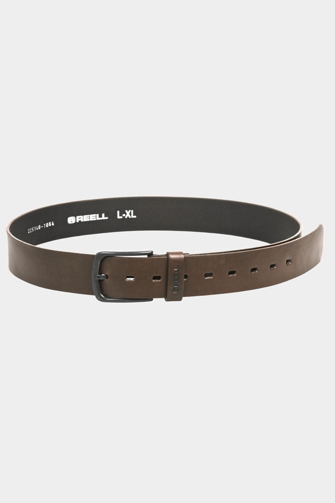 Reell All Black Buckle Belt - cappuccino Größe: L/XL Farbe: Cappuccino
