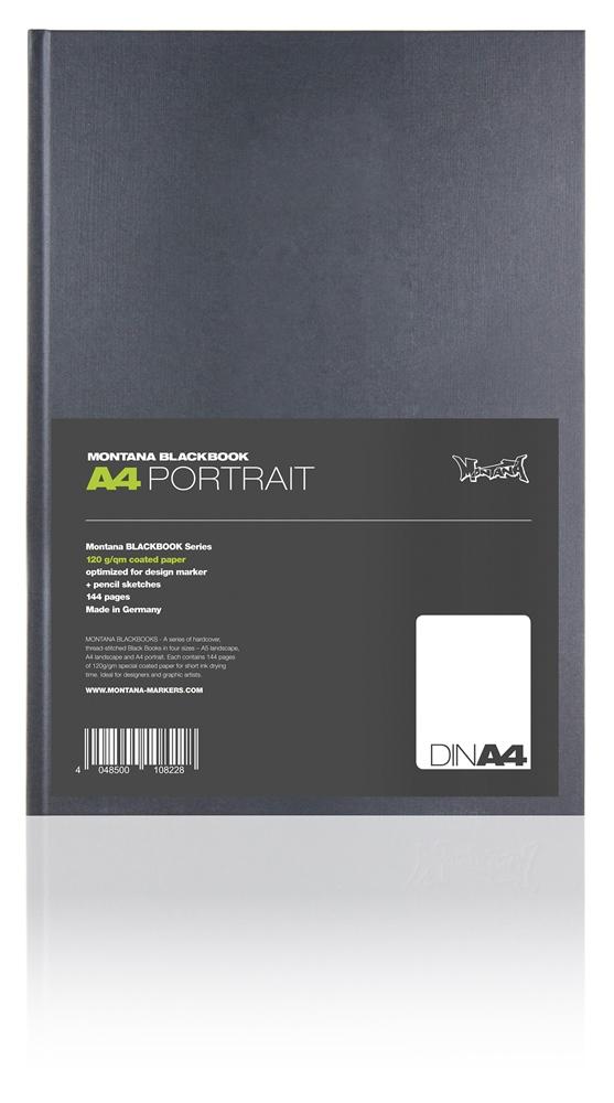 Montana Blackbook A4 Hochformat Größe: DINA4
