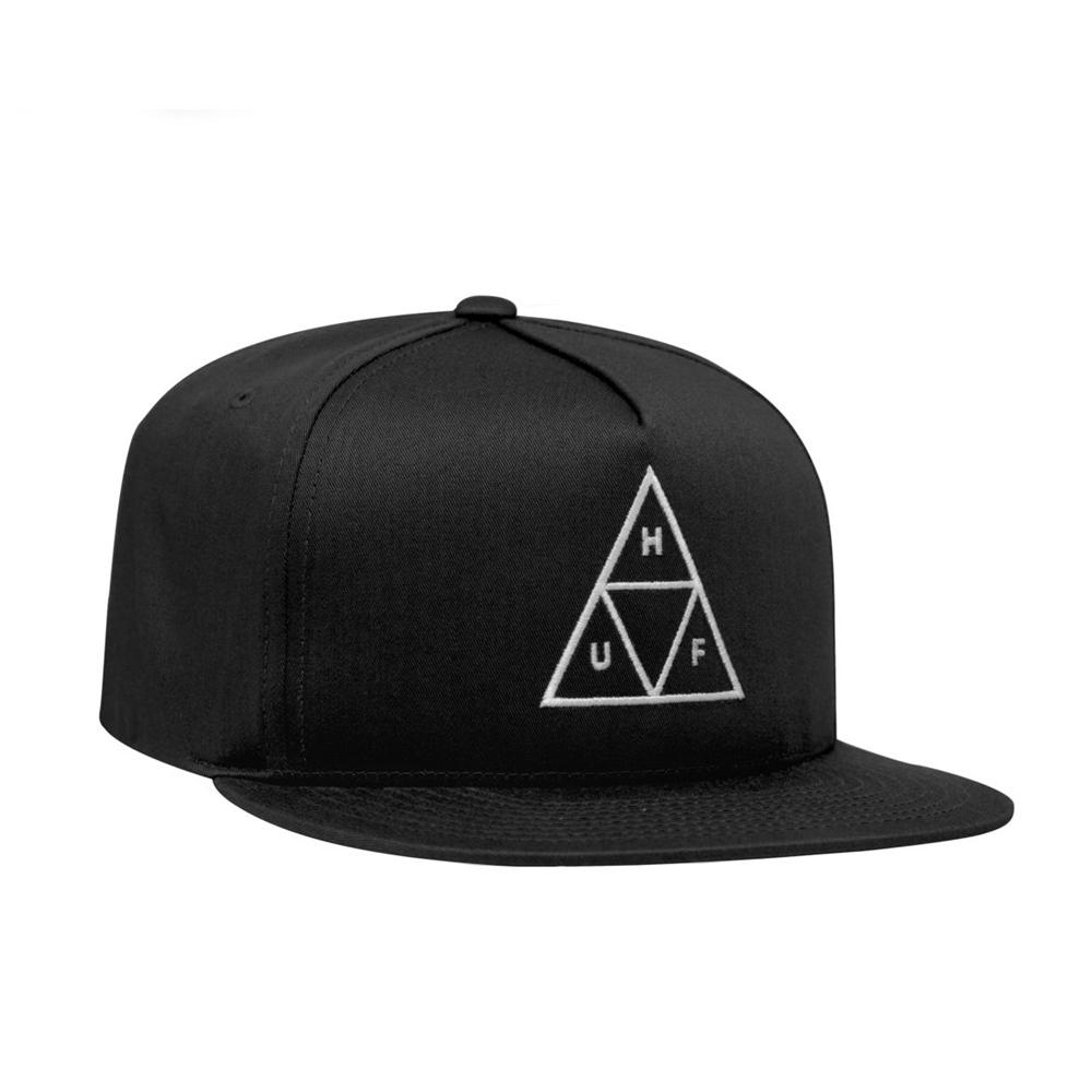 Huf Essentials Trible Triangle - black Größe: Onesize Farbe: black