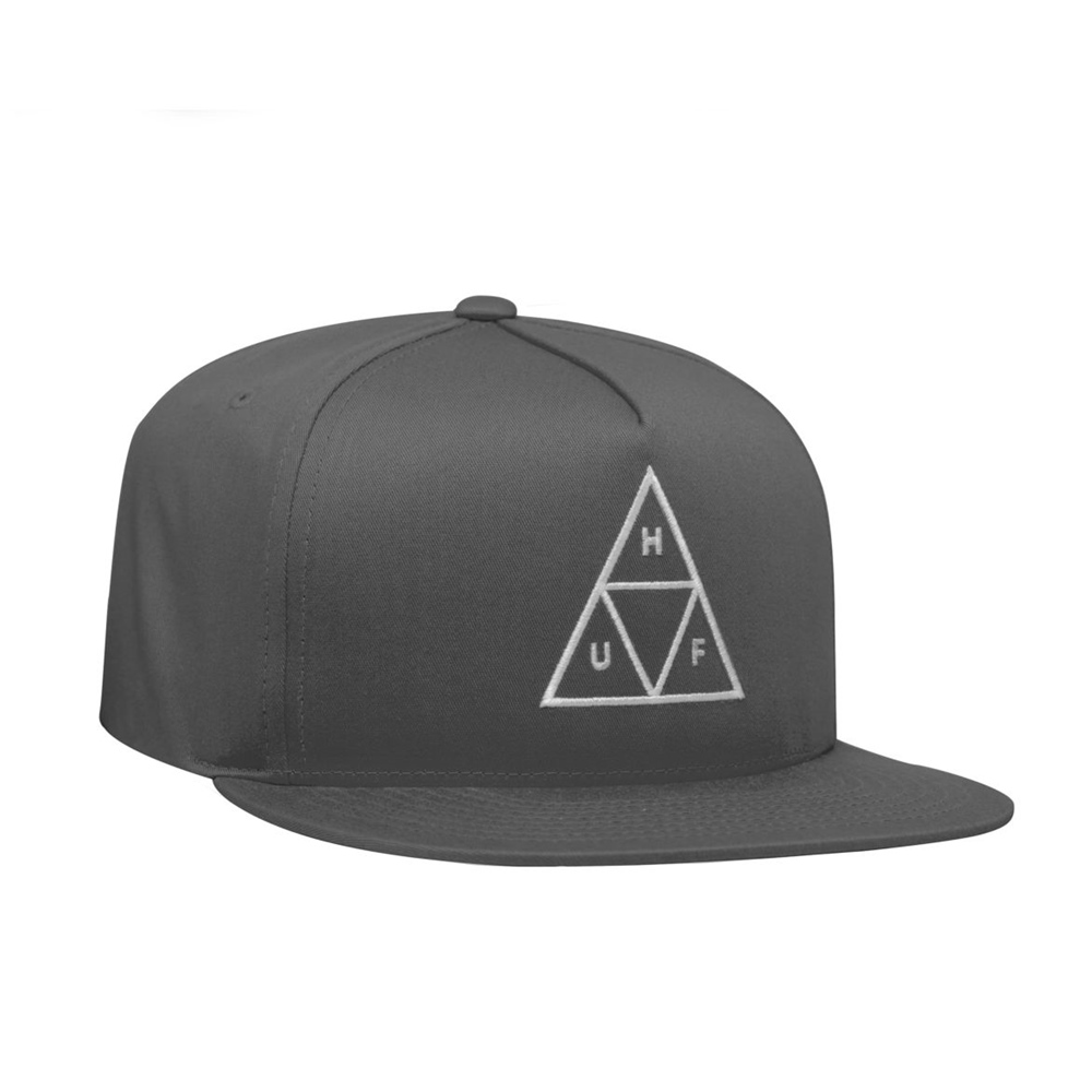 Huf Essentials Trible Triangle - charcoal Größe: Onesize Farbe: charcoal