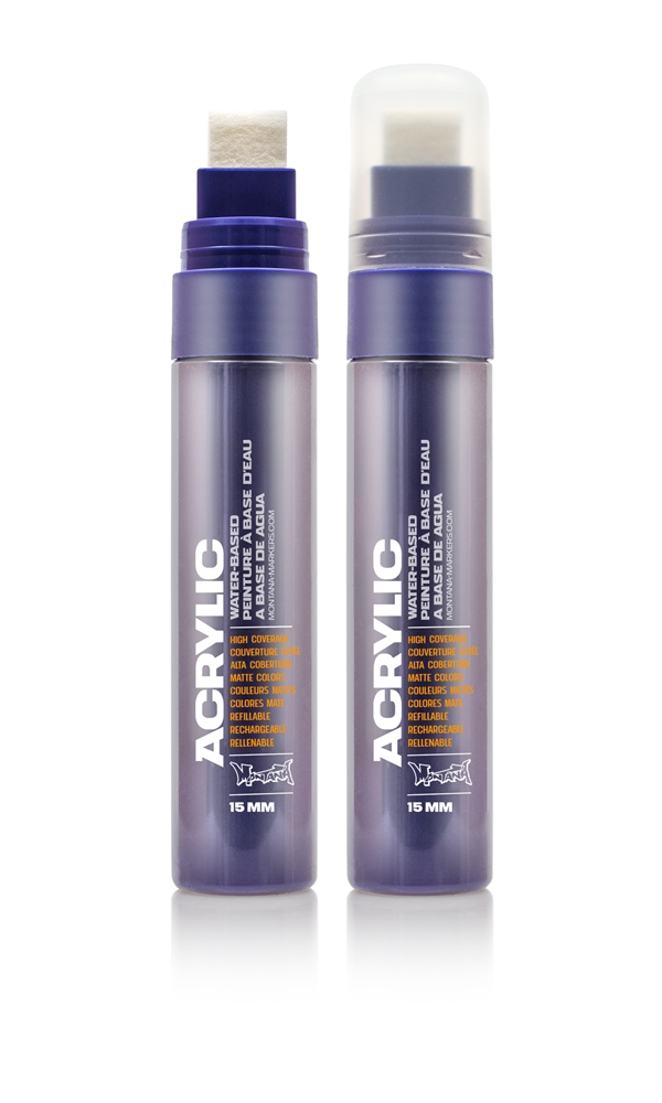 Montana ACRYLIC  Marker 15mm Standard - S4220 Shock Lilac Farbe: Shock Lila Breite: 15mm