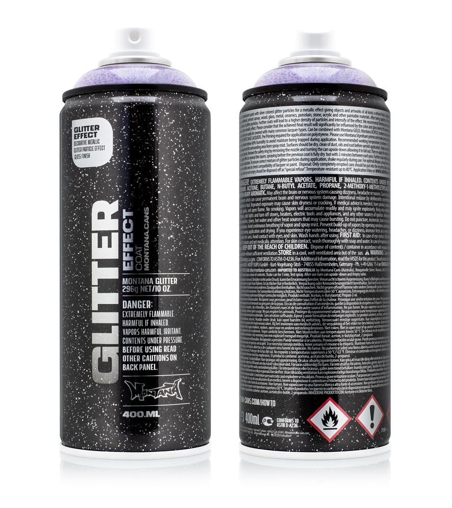 Montana Glitter 400ml - EGC AME - Amethyst Farbe: Amethyst