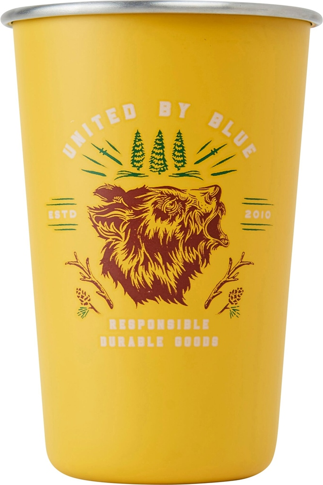 United By Blue Grizzly 16OZ / 473ml - gold Menge: 16OZ 473ml Gold: gold