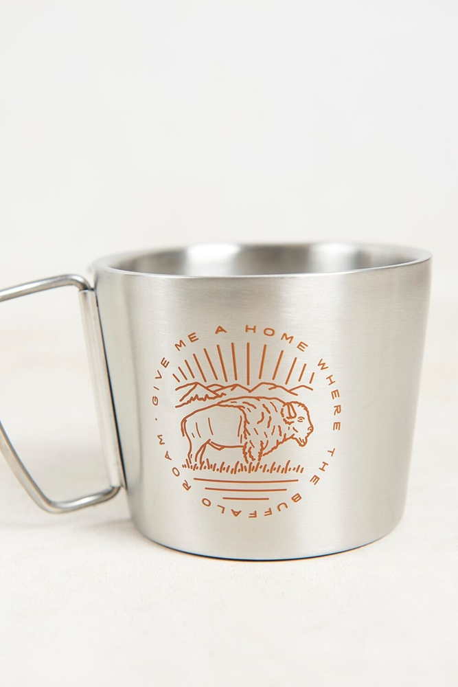 United By Blue Buffalo Roam 12OZ / 355ml - stainless steel Menge: 12OZ 355ml Farbe: stainlesss