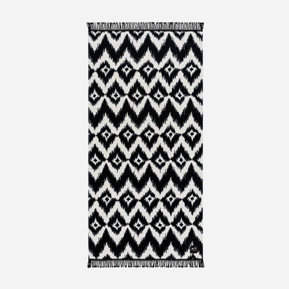 Slowtide Escher 76cm x 152cm - black Größe: 76 x 152 Farbe: black