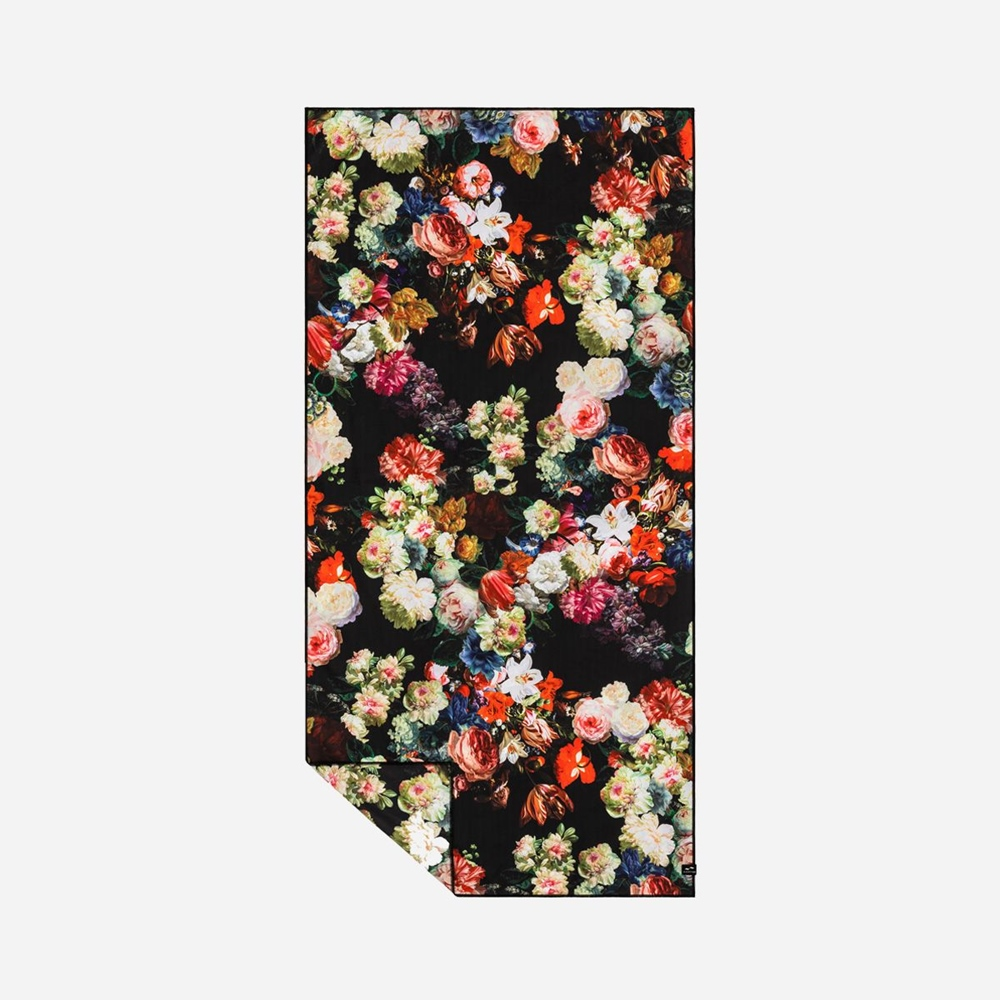 Slowtide Dhalia Travel Towel 157cm x 86cm - black Größe: 157 x 86 Farbe: black