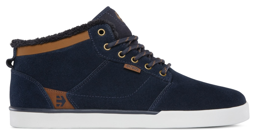 Etnies Jefferson Mid - navy brown Größe: 7 Farbe: NavyBrown