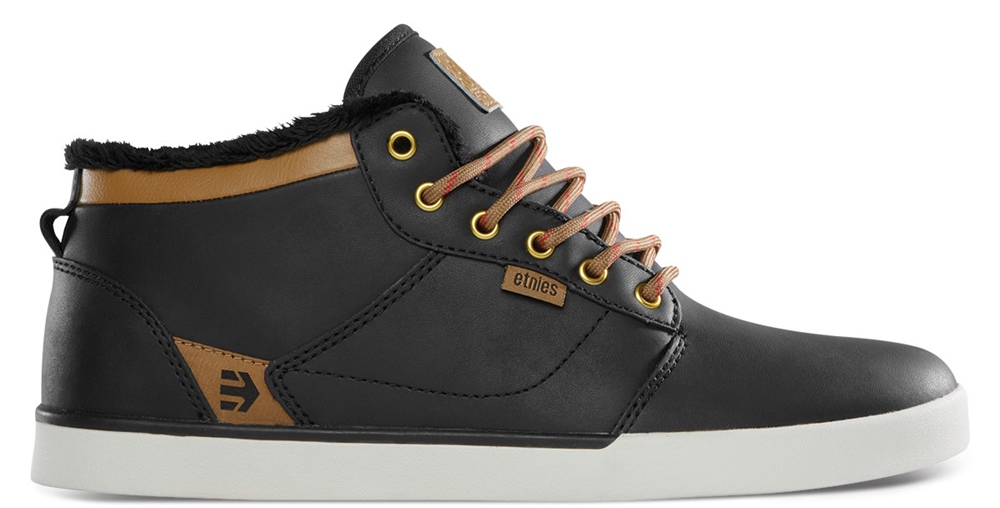 ETNIES Jefferson Mid LX SMU - black brown Größe: 6 Farbe: BlackBrwn
