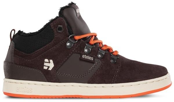 ETNIES High Rise - brown Größe: 4 Farbe: Brown