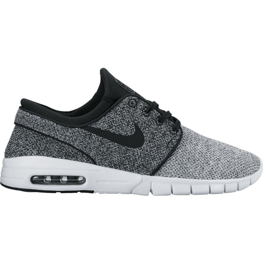 Nike SB Janoski Max - white/black Größe: 4 Farbe: WhtBlkDkG