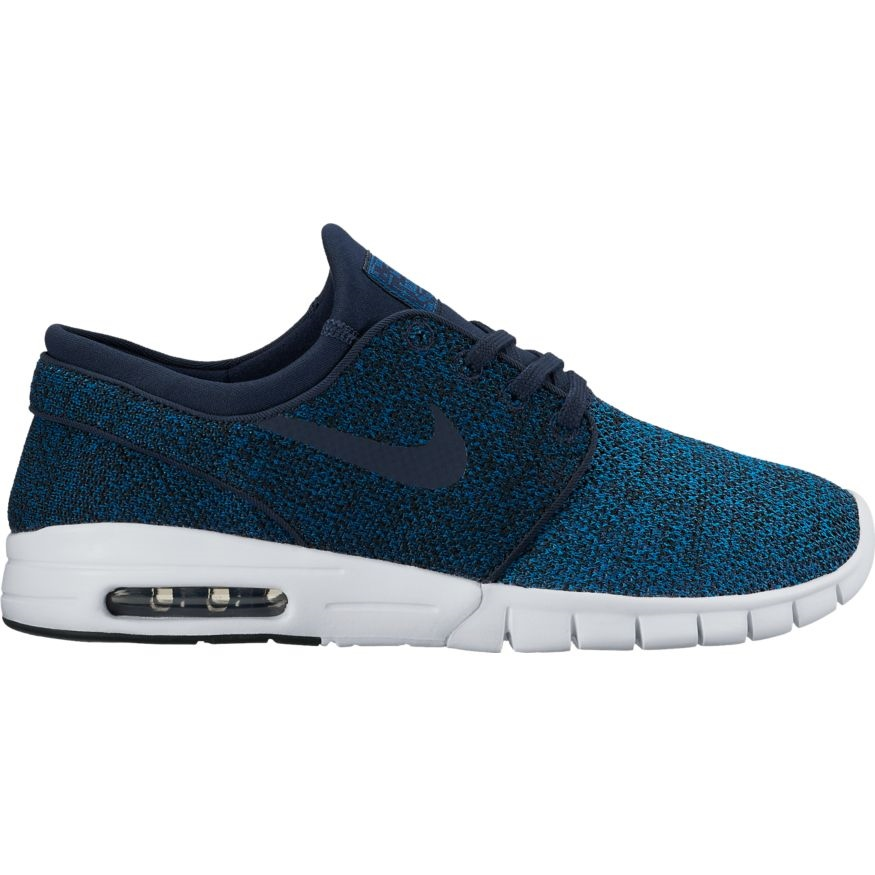 Nike SB Stefan Janoski Max - blue Größe: 4 Farbe: IndustrBl
